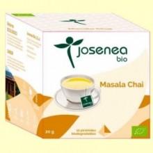Masala Chai Bio - 10 pirámides - Josenea
