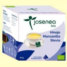 Hinojo Manzanilla Stevia Bio - 10 pirámides - Josenea