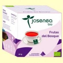 Frutas del Bosque Bio - 10 pirámides - Josenea