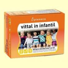 Vittal In Infantil - Jalea Real Fresca - 20 viales - Plameca