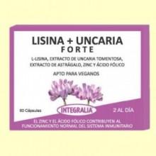 Lisana y Unicaria Forte - 60 cápsulas - Integralia