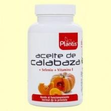 Aceite de Calabaza - 180 cápsulas - Plantis