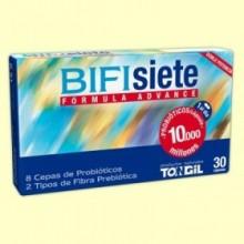 Bifisiete - Flora intestinal - 30 cápsulas - Tongil
