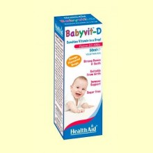 Babyvit-D Gotas - 50 ml - Health Aid