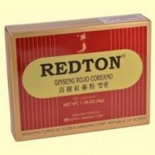Redton Ginseng Rojo Coreano - 100 cápsulas - Robis Laboratorios