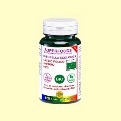 Chlorella Bio SuperFoods 513 mg - 90 comprimidos - Robis
