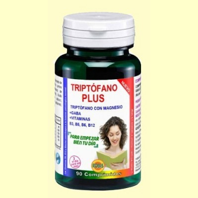 Triptófano Plus 540 mg - 90 comprimidos - Robis