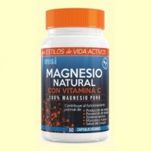 Magnesio Sport 100% natural - 60 cápsulas - MSI