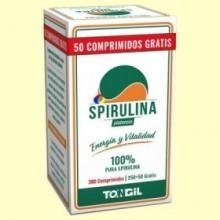 Spirulina Platensis - 300 comprimidos - Tongil