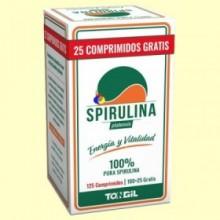Spirulina Platensis - 125 comprimidos - Tongil