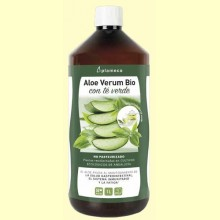 Aloe Vera Bio con Té Verde - 1 litro - Plameca