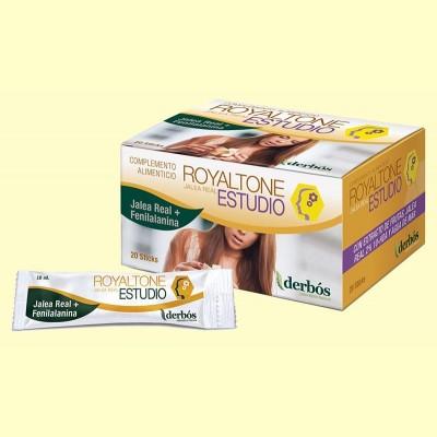 Royaltone Estudio - Rendimiento intelectual - 20 sticks - Derbós