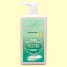Jabón de Aloe Vera Vitaminado - 1 litro - Shova.de
