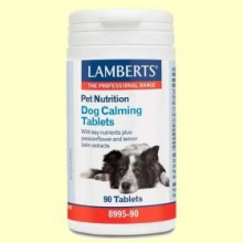 Tabletas Calmantes para Perros - 90 comprimidos - Lamberts