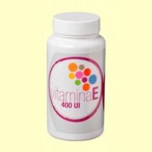 Vitamina E 400 UI - 50 cápsulas - Plantis