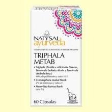 Triphala Metab Ayurveda - 60 cápsulas - Natysal