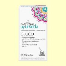 Gluco Ayurveda - 60 cápsulas - Natysal