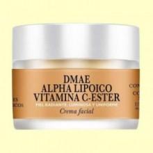 Crema Facial DMAE Alpha Lipoico Vitamina C-Ester - 30 ml - Natysal