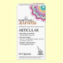 Articular Ayurveda - 60 cápsulas - Natysal