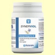Synerviol - Omega 6 y Omega 3 - 180 perlas - Nutergia