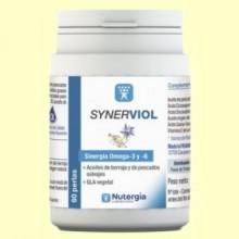 Synerviol - Omega 6 y Omega 3 - 60 perlas - Nutergia