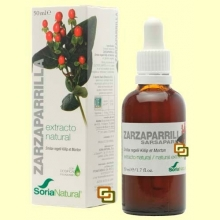 Zarzaparrilla - Extracto de Glicerina Vegetal - 50 ml - Soria Natural