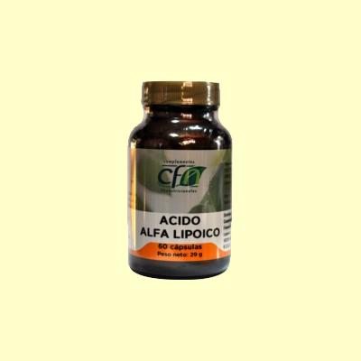 Ácido Alfalipoico - 60 cápsulas - CFN