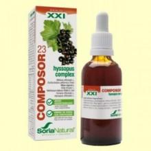 Composor 23 Hyssopus Complex S XXI - 50 ml - Soria Natural