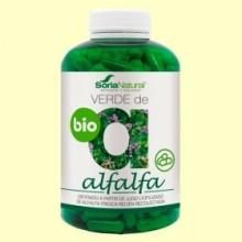 Verde de Alfalfa Bio - 240 cápsulas - Soria Natural