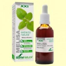 Melisa Extracto S XXI - 50 ml - Soria Natural