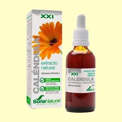 Caléndula Extracto S XXI - 50 ml - Soria Natural