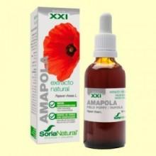 Amapola Extracto S XXI - 50 ml - Soria Natural