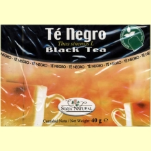 Té Negro - 20 filtros - Soria Natural