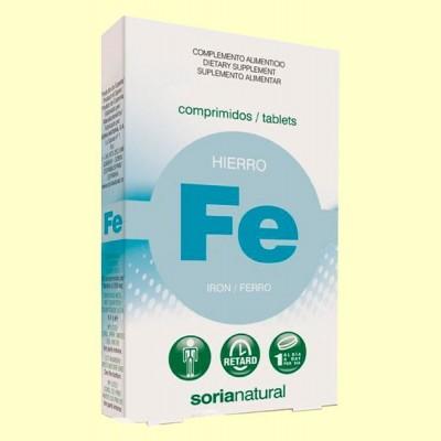 Hierro Retard - 32 comprimidos - Soria Natural
