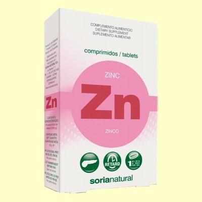 Zinc Retard - 48 comprimidos - Soria Natural
