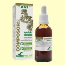 Composor 25 Lepidium Complex S XXI - 50 ml - Soria Natural