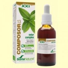 Composor 13 Oxiur Complex S XXI - 50 ml - Soria Natural