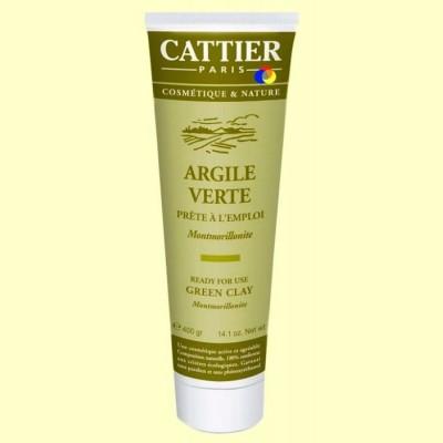 Arcilla Verde - Lista para usar - 400 gramos - Cattier