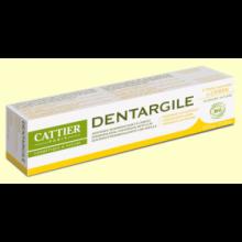 Dentífrico Dentargile Limón - 75 ml - Cattier