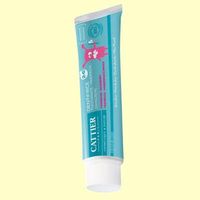 Dentífrico para niños 2-6 años - 50 ml - Cattier