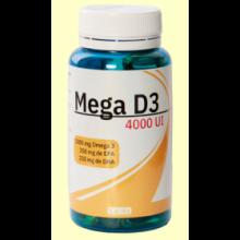 Mega D3 4000 UI - 60 perlas - Espadiet