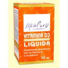 Vitamina D3 1000 UI - 15 ml - Tongil