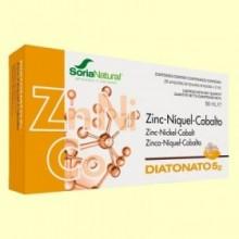 Diatonato 5/2 - Zinc Niquel y Cobalto - 28 ampollas - Soria Natural
