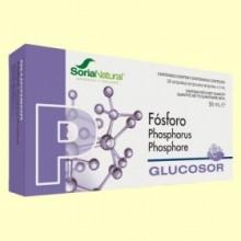 Glucosor Fósforo - 28 ampollas - Soria Natural