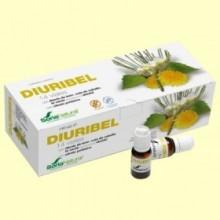 Diuribel - Depurativo y Retención de Líquidos - 14 viales - Soria Natural