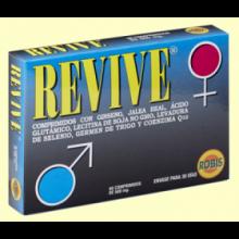 Revive - Ginseng y Jalea Real - 60 comprimidos - Laboratorios Robis