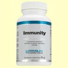 Immunity - 60 cápsulas vegetales - Sistema Inmunitario