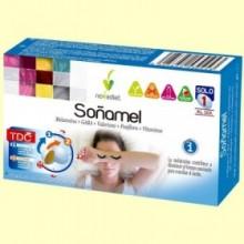 Soñamel - Melatonina - 30 comprimidos - Novadiet