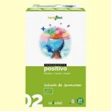 Pensamiento Positivo - Infusión de Roiboos Canela y Azahar Bio - 20 filtros - Novadiet