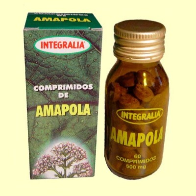 Amapola - 60 comprimidos - Integralia